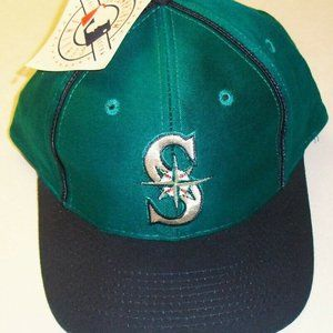 Seattle Mariners Vintage 90s Strapback hat New MLB